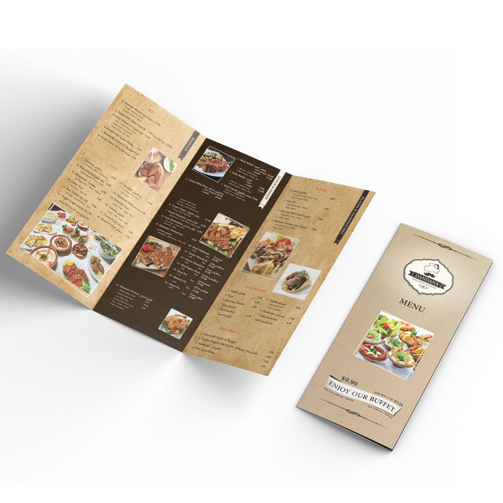 Graphic Design Company Dandana menu Feature