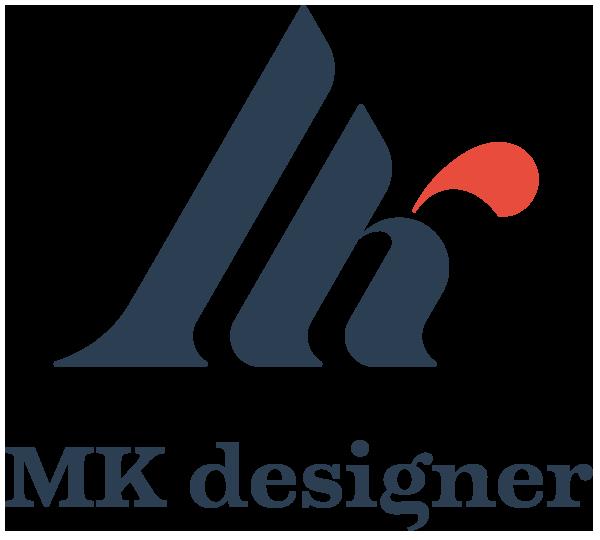 MK designer Logo