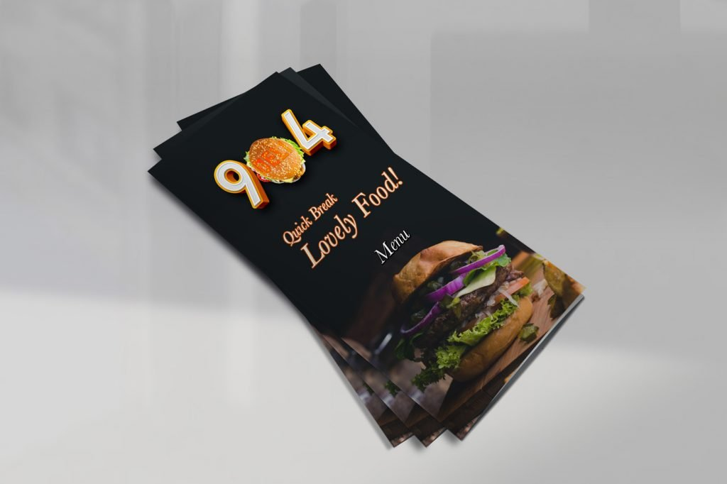 904 restaurant menu